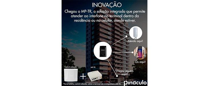 Interfone celular integrado ao interfone cabeado: atenda os visitantes no interfone ou no telefone